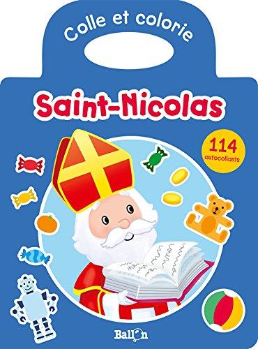 Colle et colorie - Saint Nicolas par Collectif