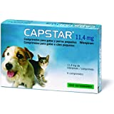 Novartis Capstar-11,45 6 Cds (1-11 Kg) Perro/gato