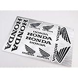 Honda Stickers Decals vinilo de 30x20cm con protección extra en la parte superior