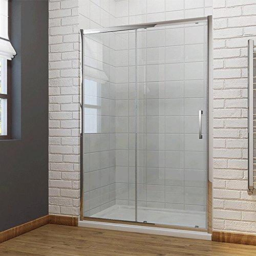Dusche Duschkabine Schiebetür Duschabtrennung 120x190cm Duschtür Duschwand aus 8mm NANO Sicherheitsglas