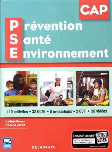 Prévention, santé, environnement (PSE) CAP 1re et 2e années - Pochette élève par Pierre Salette