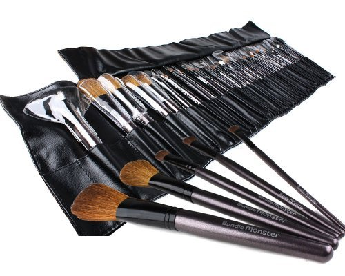 bundle-monster-34-pinceaux-de-maquillage-pour-ombre-a-paupiere-blush-correcteur-etc-etui-cuir