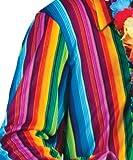 Kostüm Hemd Rusty Größe 48/50 Herren Hippie Hemd 70er 80er Jahre Motto Party Woodstock Show Karneval Fasching Pierro's