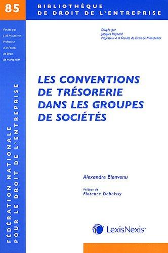 Les conventions de trésorerie dans les groupes de sociétés - N° 85