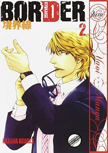 Border Volume 2 Yaoi Yaoi Manga