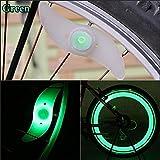 4pcs para bicicleta para radios de alambre de neumáticos neumático LED luz de neón Bombilla–Color al azar