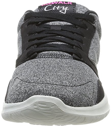 Skechers - Go Walk City Uptown, sneakers  da donna Nero (Schwarz (BKW))