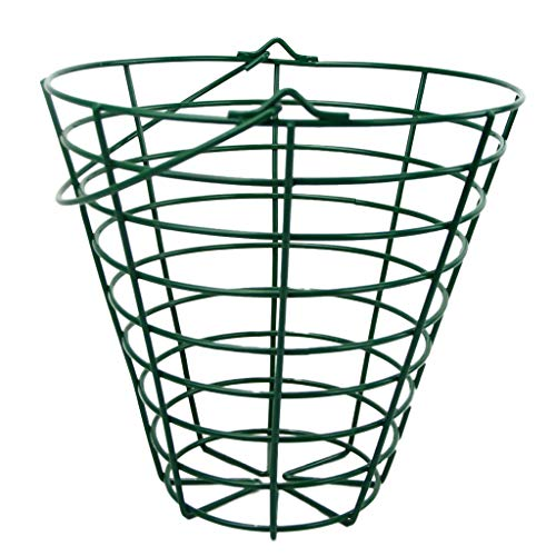 Seafard Golfball Eimer Stahldraht Korb Golfball Behälter Hält 30/100 Bälle - Fit 100 Bälle -