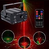 Disco Licht,3 Loch 48 Pattern 5 Loch 8 Loch 128 Pattern Mode Lǎser Sound Control Stage KTV Bar Weihnachtslaterne Stage lǎser light (Size : 3)