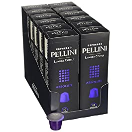 Pellini Luxury Coffee 120 capsule compatibili Nespresso