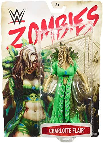 Mattel GmbH gbd91WWE Zombies Figura, Charlotte, joven, 15cm