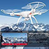 Shopme Wi-Fi FPV R/C 2.4Ghz 6-Axis Vision Quadcopter Drone with 2 MP HD