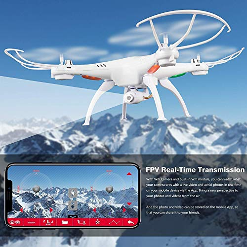 Shopme store Wi-Fi FPV R/C 2.4Ghz 6-Axis Vision Quadcopter Drone with 2 MP HD Camera