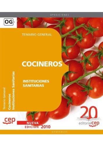 Cocineros de Instituciones Sanitarias. Temario (Colección 1181) por VV.AA.