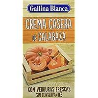 Gallina Blanca Crema Casera de Calabaza - Paquete de 12 x 500 ml - Total: 6000 ml