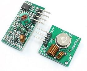 Banggood Wireless Transmitter Receiver Module Link Kit 433MHz RF For ARM/MCU