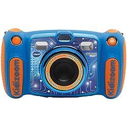 VTech Kidizoom Duo 5.0 Appareil photo Numérique pour les Enfants, Bleu