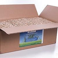 Jumbogras® Rindenmulch-Ersatz 190 l, 27 kg: Garten-Mulch aus Miscanthus/Chinagras/Elefantengras im Garten für pflegeleichte Gärten/Gartengestaltung/Gartenpflege
