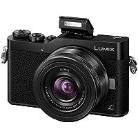 Panasonic DC-GX800KEBK Lumix G Compact System Camera - Black (12 - 32 mm Lens, 4K Video and Photo)