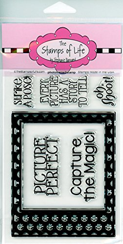 Die Briefmarken Of Life Fotorahmen Briefmarken für Karte machen und Scrapbooking von Stephanie Barnard-Foto Rahmen und niedlich Sentiments