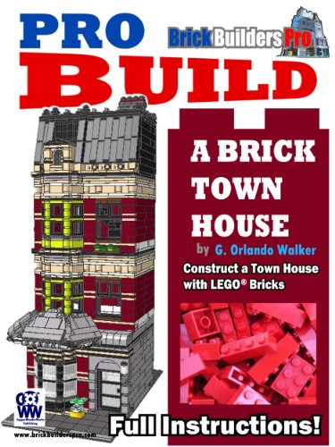 pro-build-a-brick-town-house-construct-a-town-house-with-legor-bricks-english-edition