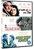 A Matter Of Life And Death/Colonel Blimp/I Know Where I'm Going [DVD]