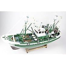 Pesca barco marinero Capitán Cantábrico 60 cms Modelismo NO KIT