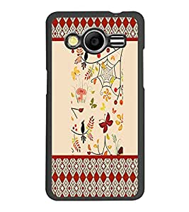 PrintDhaba Pattern D-4770 Back Case Cover for SAMSUNG GALAXY CORE 2 G355H (Multi-Coloured)