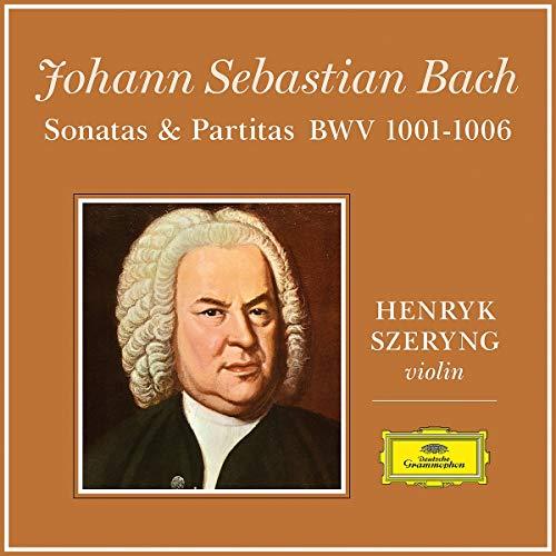Henryk Szeryng - J.S. Bach: 6 Sonatas and Partitas for Violin Solo (Ltd. Edt.) [Vinyl LP] (Bach Violin Sonatas Partitas)