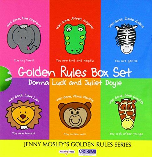 Golden Rules Box Set por Donna Luck