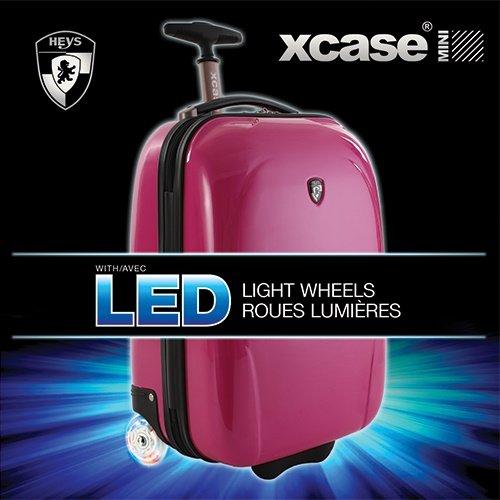 ... 50% SALE ... PREMIUM DESIGNER Hartschalen Koffer - Heys Core XCase Mini Orange - Handgepäck Rosa