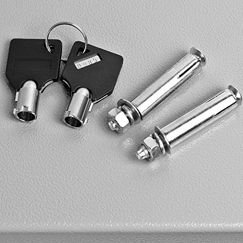 Dokumententresor 35x40x40cm – Safe Tresor Möbeltresor mit Elektronikschloss - 5