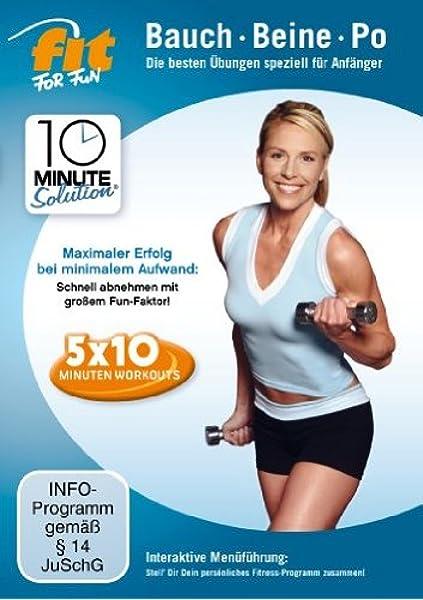 Übungen zum Abnehmen schnelle Beine und Gesäß