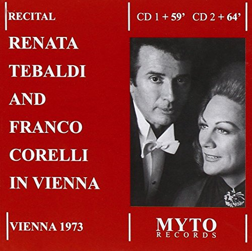 Renata tebaldi, soprano - franco corelli, tenor