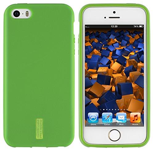 mumbi Coque de protection pour iPhone SE/5/5s Motif Mandala Griffonnage vert