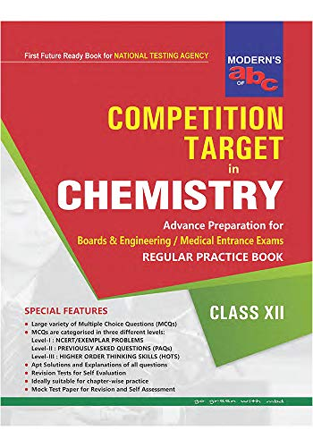 Modern abc of Competition Target in Chemistry XII (English Edition)