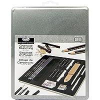 Royal & Langnickel RSET-ART2711 - Set de carboncillo de diseño artístico