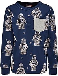 LEGO Ninjago Teo 105-Langarmshirt, Camiseta de Manga Larga para Niñas