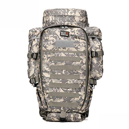 Outdoor Bergsteigen Tasche Groß Tarnung Multifunktional Rucksack Taktischen CPcamouflage