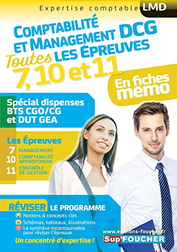 DCG Compta Management : Toutes les révisions de l'UE 7, 10,11 - Spécial dispense BTS CG et DUT GEA
