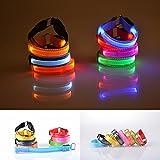 vulna (TM) moda multicolor LED Light Up brazalete brillante pulsera disco party Dance Bar pulsera # 73693