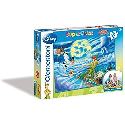 Clementoni - Puzzle Peter Pan de 40 piezas