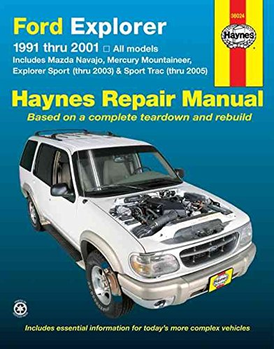 ford-explorer-mazda-navajo-mercury-mountaineer-91-05-by-jay-storer-published-january-2006