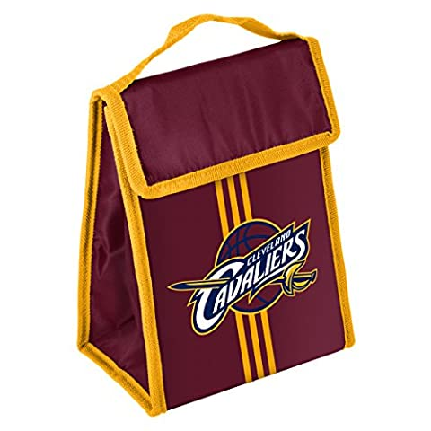 NBA Cleveland Cavaliers Unisex Team Velcro Lunch Bag, One Size