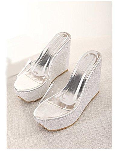ZPPZZP Ms sandali pantofole a tacco alto 39EU