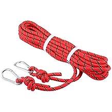 Selighting Cuerda de Seguridad Cuerda de Escalada Profesional de Alta Resistencia para Escalar al Aire Libre