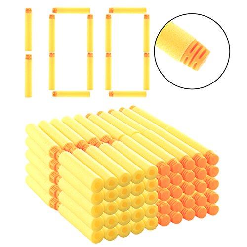 Riva776Yale 100 Stück Darts Pfeile Für Nerf N-Strike Elite Bullets Zubehör für Nerfs Nachfüll