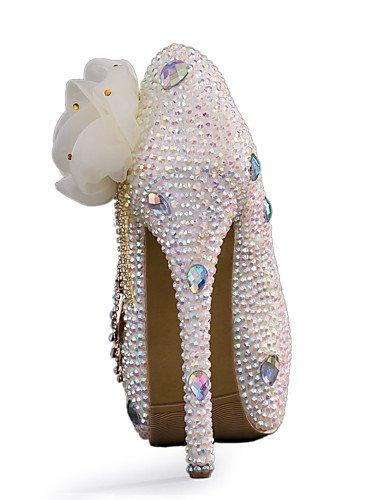 WSS 2016 chaussures talon aiguille talons talons mariage / fête des femmes&soirée / robe blanche 5in & over-us8.5 / eu39 / uk6.5 / cn40