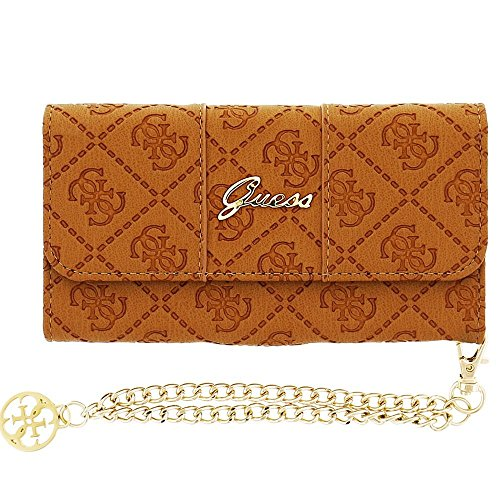 """GUESS GUCLTP6SCCO Purse Brown 4.7"""" mobile phone case - mobile phone cases"""