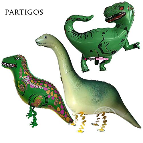 Uniqus - Globos de Helio para bebé, diseño de Dinosaurio, Ideal para Fiestas o Regalos